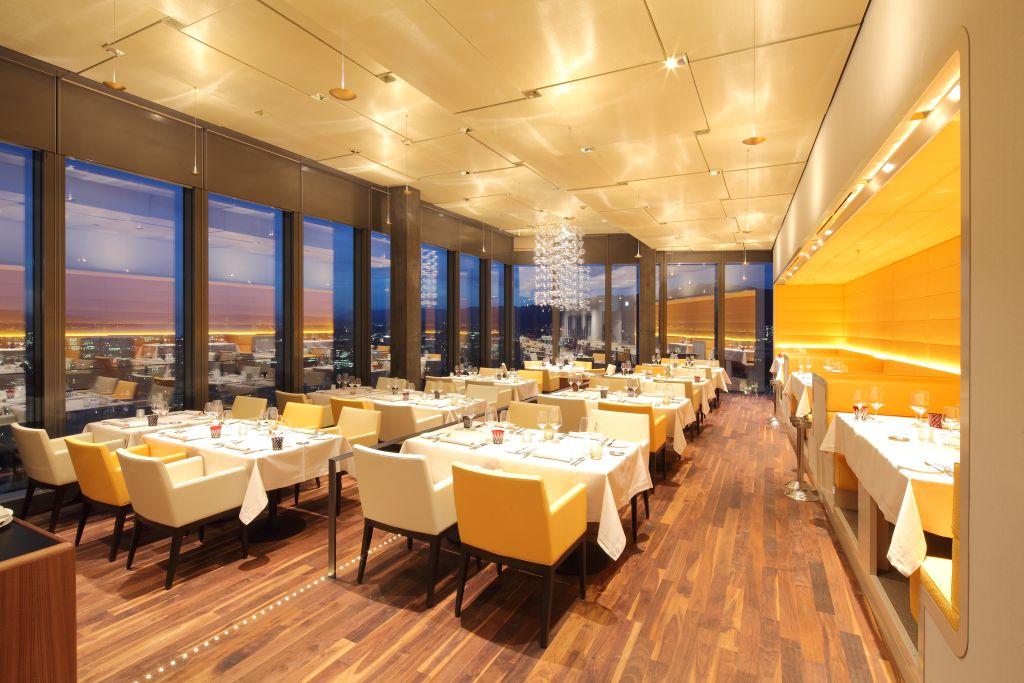 Prime Tower Restaurant Decke, Zürich